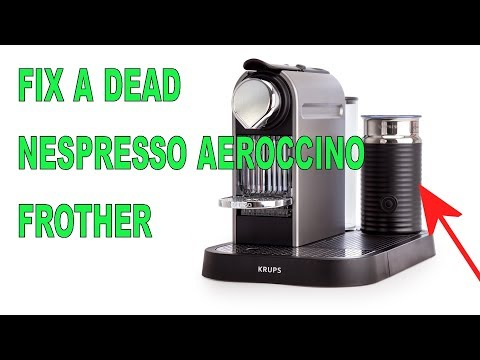 DIY Nespresso Aeroccino Repair. Fix A Dead, Non Working, Wont Turn On Frother For Cheap