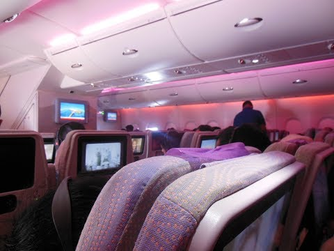 #16: EMIRATES AIRBUS A380-800   FLIGHT TRIP REPORT EK225 Dubai to San Francisco   ULTRA long haul