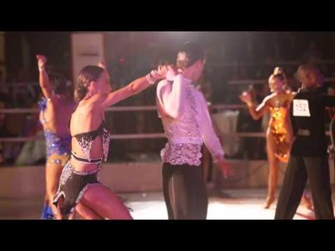 SADF South African Open Dance Championships Professional Latin 28Nov15