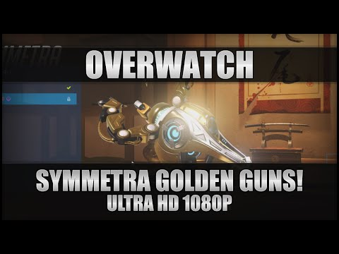 ♕ Overwatch - Symmetra Golden Guns! - PC Ultra 1080p 60FPS