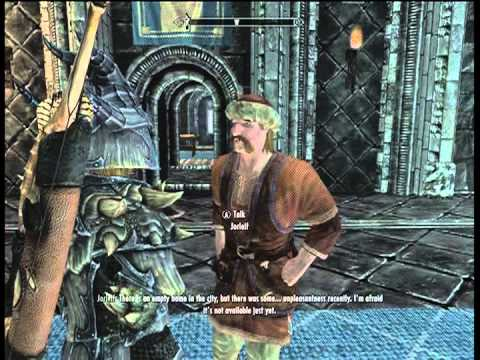 Why Cant I buy the house in Windhelm Skyrim