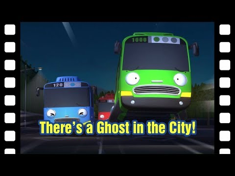 Tayo there's a ghost in the city! l 📽 Tayo's Little Theater #30 l Tayo the Little Bus
