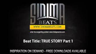 True Story Instrumental (Sad and Inspiring East Coast Rap Beat) Sinima Beats