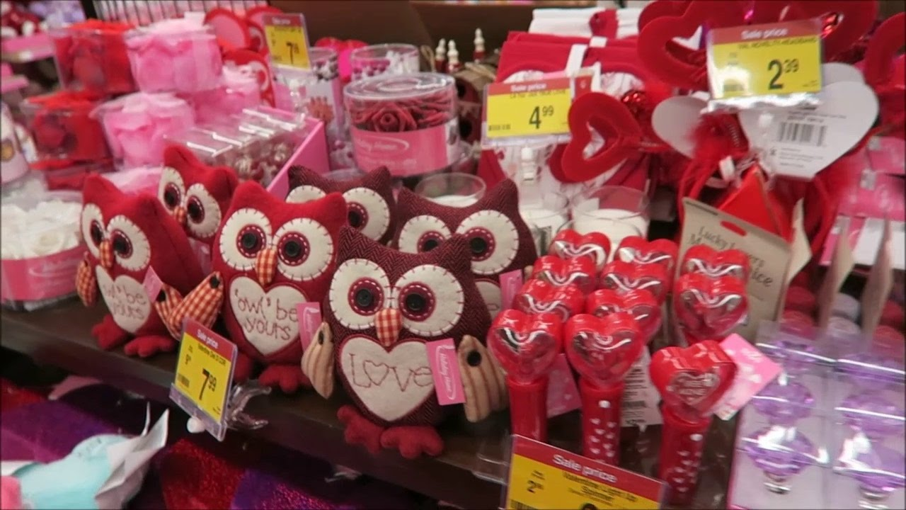 Valentine S Day Candy Decor At Kroger 2017 Youtube
