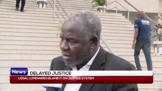 Legal luminaries blame it in justice system
