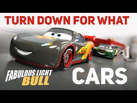 Cars Toons - Turn Down For What  (Music Video)