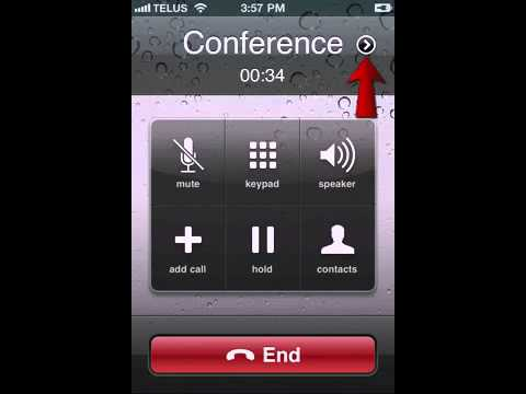 three way calling iphone conference call on iphone 3 way call 16270