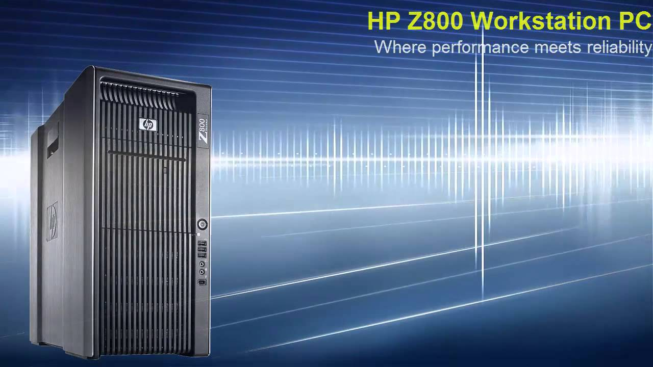HP Z800 Workstation - Dual CPU v3 (CTO)