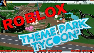 Roblox Theme Park Tycoon 2 | MORE INTENSE RIDES!!! Pt.3
