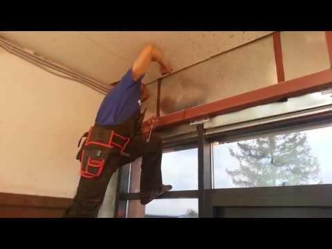видео: 002 Скрытое крепление (Потолок из гипсокартона (Методом ТЫКА))