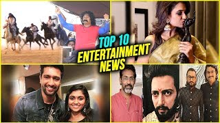 Top 10 Marathi Entertainment News | Weekly Wrap | Sarsenapati Hambirrao | Fatteshikast