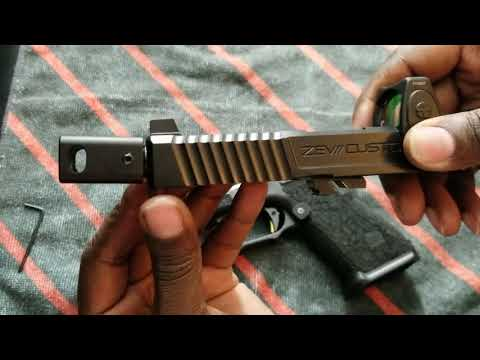 Disassemble cleaning and Reassembling of the Roland Special! Glock 19 Gen 3 Zev Tech