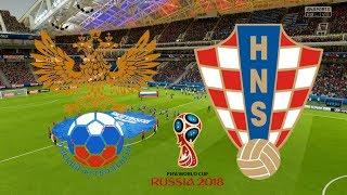 World Cup 2018 Quarter Final - Russia Vs Croatia - 07/07/18 - FIFA 18