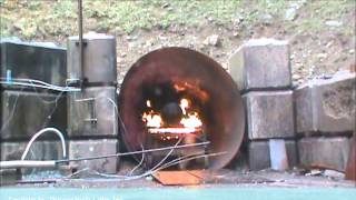 Everest Kanto Cylinder ( EKC ) --- BonFire Test ( 406 mm diameter x 130L )