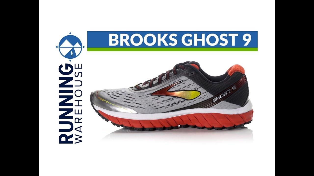 Brooks Ghost 9 for Men. Running Warehouse