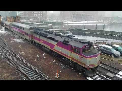 Railfanning Boston