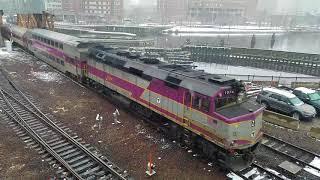 Railfanning Boston