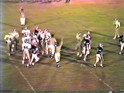 1987 Piedmont Academy Cougars at Barnesville Academy Warriors