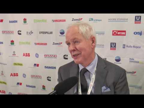 Mr Johannes Ostensjo winner of Lifetime Achievement Award at the OSJ Awards