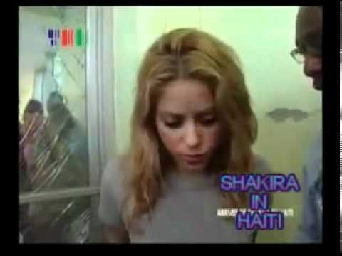 SHAKIRA'S  VISITS HAITI WITH THE  INTENT TO BUILD A SCHOOL!!!