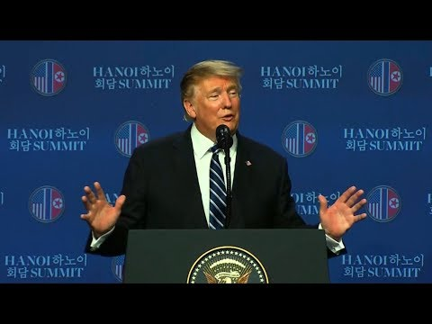 Trump wraps US-North Korea summit with press conference