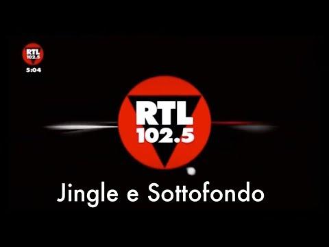 RTL 102.5 - Jingle e Sottofondo programma generico