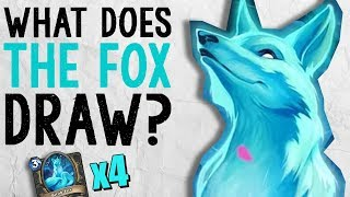 WHAT DOES THE FOX DRAW? Rogue Arena | The Boomsday Project | Hearthstone Arena