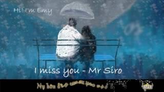 I Miss You - Mr. Siro