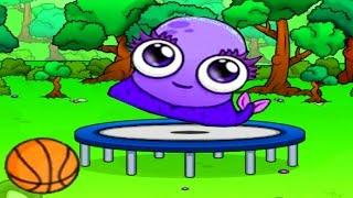 МОУ 5 СЕРИЯ #5 Милый инопланетный зверёк мультик игра для детей Играем с виртуальным питомцем Моу
