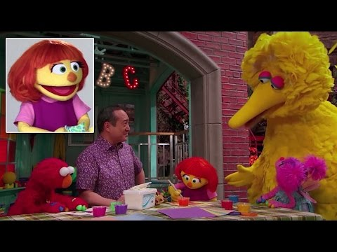 'Sesame Street' Introduces Julia, Its First Muppet With Autism