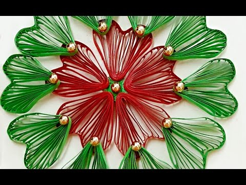 Beautiful DIY Paper Quilling Flower Wall Hanging | Home Decor Craft | StylEnrich