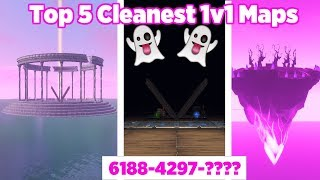 The *CLEANEST* 1v1 Maps you have Ever Seen 💯 (Fortnite Creative Map codes)