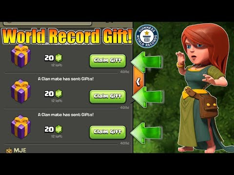 World Record : I Found 400 Days Old Clan Gift In Clash Of Clans......😮
