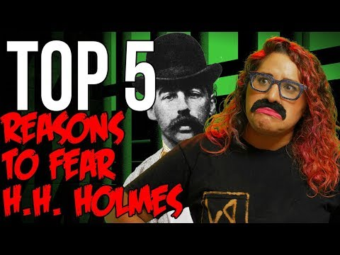 Top 5 Facts About H.H. Holmes - Famous Serial Killers // Dark 5 | Snarled