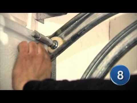 Toppen IFA Garageport montering - YouTube RJ-81