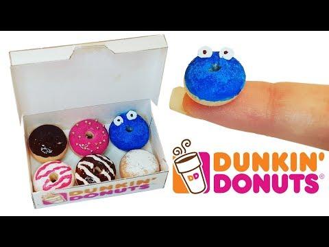 DIY Miniature ✫ Dunkin Donuts ✫ Tutorial | Crafts