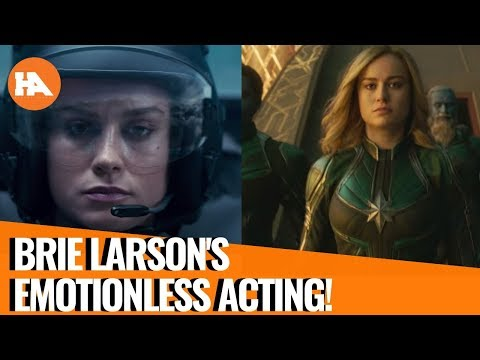 Is Brie Larson's Acting THAT Bad in Captain Marvel?