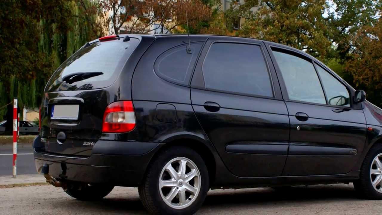 Renault Scenic Privilege Diesel Opony Zimowe Youtube