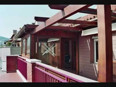 Cerramientos de terrazas en madera 5 youtube - Terrazas de madera ...