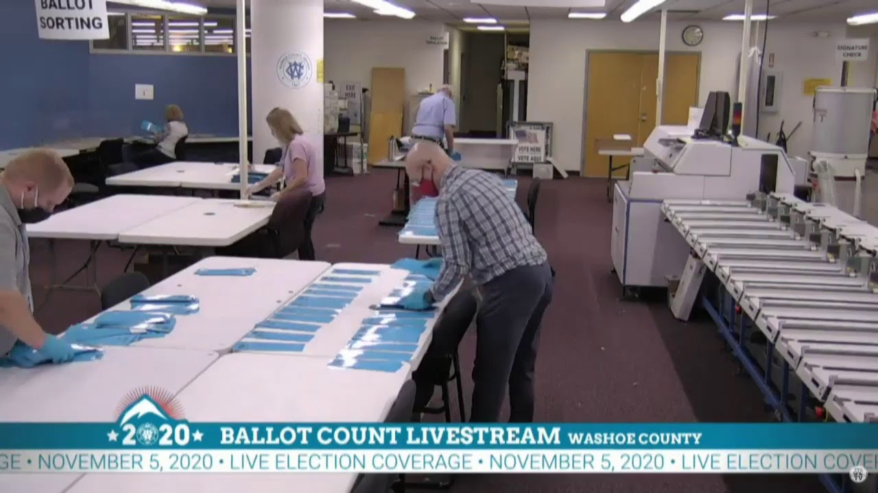 Download 2020 Election: NV poll workers continue to count ballots | KVUE