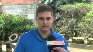 Colapso en un muro construido por llantas generó emergencia en Girardota [Noticias] - TeleMedellin