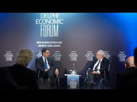 Kyriakos Mitsotakis at the Delphi Economic Forum