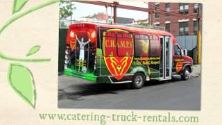 Ice cream Truck for Rent for vinyl covering marketing campaigns
