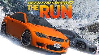 GTA V Need For Speed The Run - Avalanche Chase