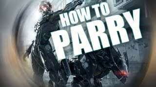 Metal Gear Rising: Revengeance - How To Parry