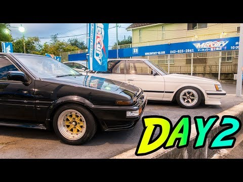 Car Spotting & Bargain Hunting At The Parts Shops Of Japan - Japan Vlog #2