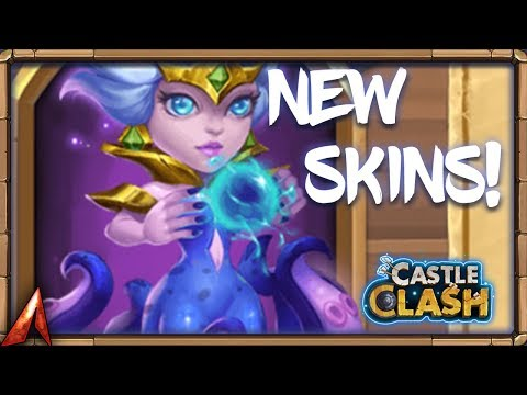 New Skins and Rolling 19k Gems for Cirrina! Castle Clash