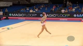 Veronica BERTOLINI (ITA) 2015 Rhythmic Worlds Stuttgart - Qualifications Ball