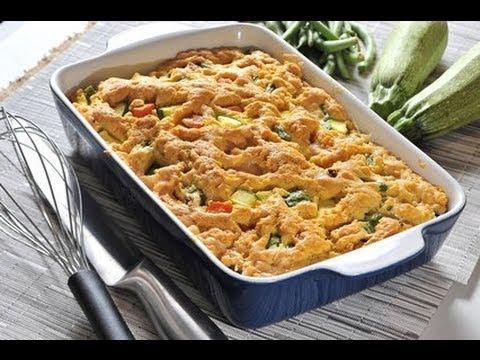 Pastel de vegetales recetas de cocina vegetariana youtube for Resetas para comidas