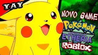 Novo Pokemon Fighters Ex No Roblox? Monster sOfria!!!